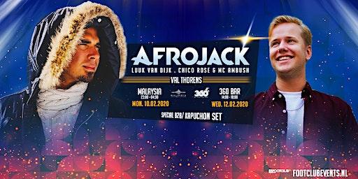 Afrojack invites Luuk van Dijk at 360 Bar, Val Thorens [FR]