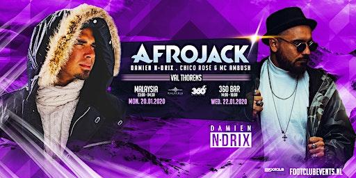 Afrojack invites Damien N-Drix at Malaysia, Val Thorens [FR]