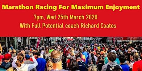 Marathon Racing Workshop tickets