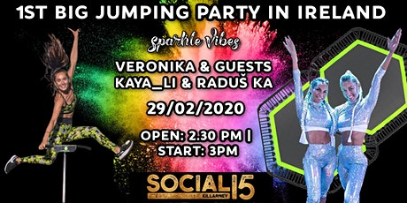 1st BIG JUMPING PARTY in IRELAND tickets
