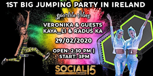 1st BIG JUMPING PARTY in IRELAND