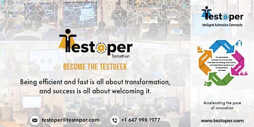 Testoper Testathon Nov 21, 2020 (AI and Blockchain)