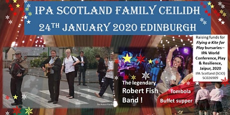 Family Ceilidh - featuring the legendary Robert Fish Band & buffet supper tickets