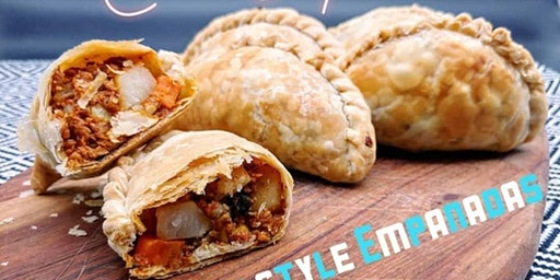Vegan Argentinean Style Empanadas Cooking Class
