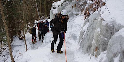 Ice Hiking at Rickett's Glen State Park!