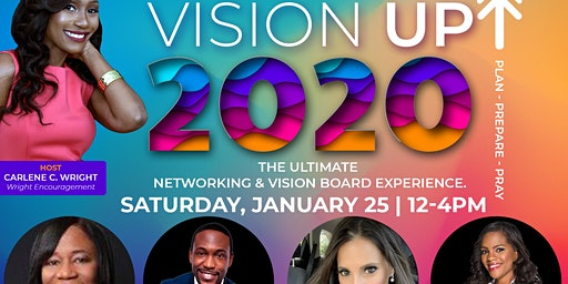 Vision UP 2020 - The Ultimate Vision Board & Networking Experience