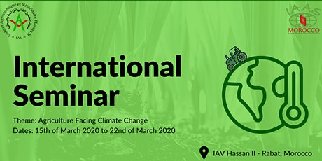 International Seminar: Agriculture Facing Climate Change billets