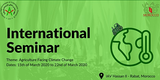 International Seminar: Agriculture Facing Climate Change