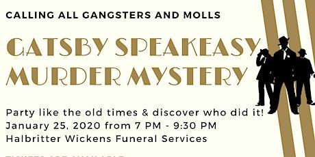 Gatsby Speakeasy Murder Mystery tickets
