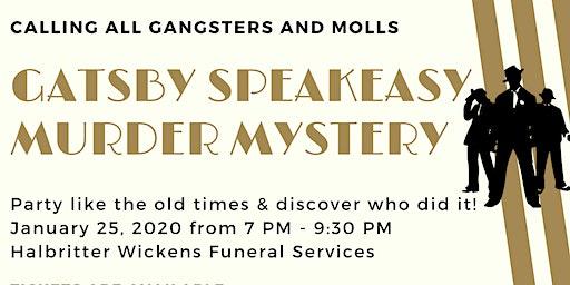 Gatsby Speakeasy Murder Mystery