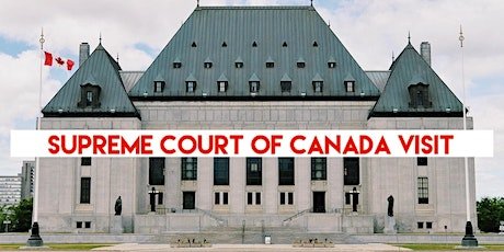 Supreme Court of Canada Tour tickets