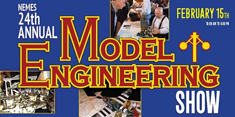 24th Annual NEW ENGLAND MODEL ENGINEERING SHOW tickets