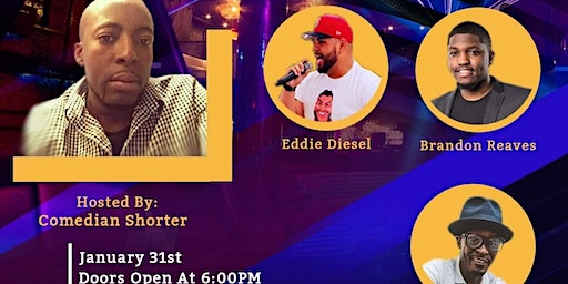 Comedy Anniversary with Comedian Shorter and Friends