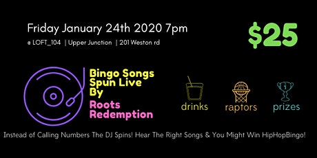 HipHop Bingo Night x LOFT_104 tickets