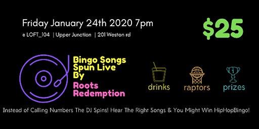 HipHop Bingo Night x LOFT_104