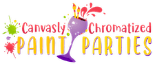 Canvasly Chromatized Paint Parties logo
