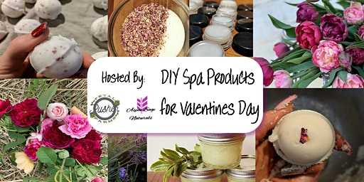 DIY Spa Products for Valentines Day