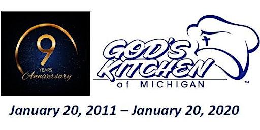God's Kitchen of Michigan 9-Year Anniversary Celebration