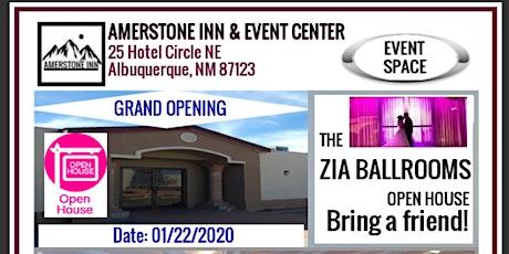 Zia Ballrooms Open House tickets