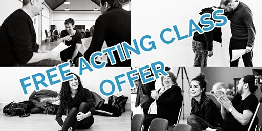Free Acting Class - Guildford - Learn with a professional actor