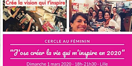 Atelier de coaching au féminin - « J'ose vivre une vie qui m'inspire » billets