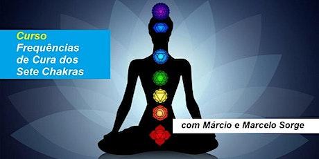 Curso Frequências de Cura dos Sete Chakras – Márcio e Marcelo Sorge ingressos