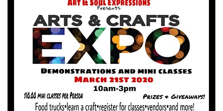 Spring Art & Craft Expo Vendors Registration tickets
