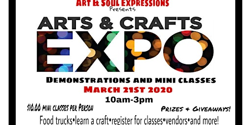 Spring Art & Craft Expo Vendors Registration