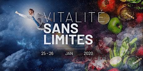 """⭐️ Séminaire """"VITALITE SANS LIMITES"""": Venez démarrer 2020 du bon pied! billets"""