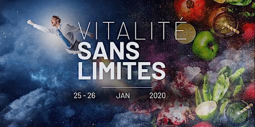 """⭐️ Séminaire """"VITALITE SANS LIMITES"""": Venez démarrer 2020 du bon pied!"""