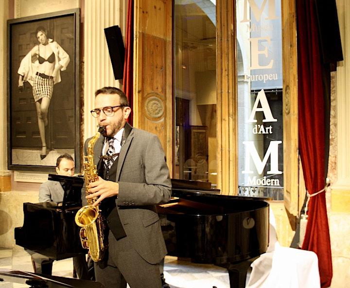 Imagen de El magnífico saxofonista David Hernando Vitores en Arbeiza, Navarra