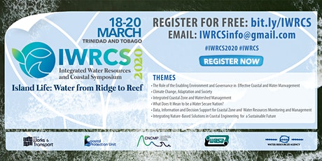 Integrated Water Resources and Coastal Symposium 2020 (IWRCS2020) billets