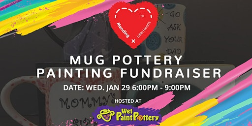Mug Pottery Painting Fundraiser