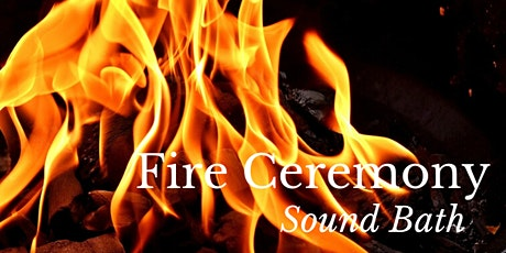 New Moon Sound Bath & Fire Ceremony tickets