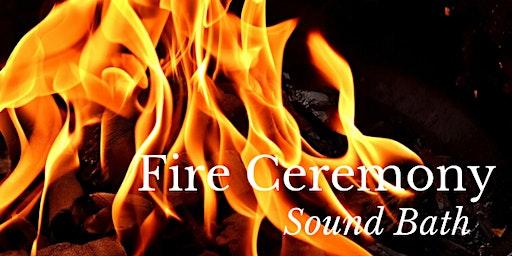 New Moon Sound Bath & Fire Ceremony