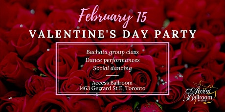 Valentine's Day Party 2020 at Access Ballroom - Toronto tickets