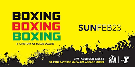 Boxing & A History of Black Boxers tickets
