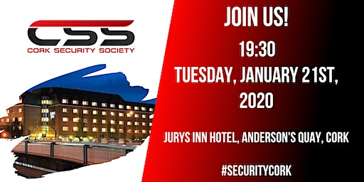 Cork Security Society - January 2020 Event