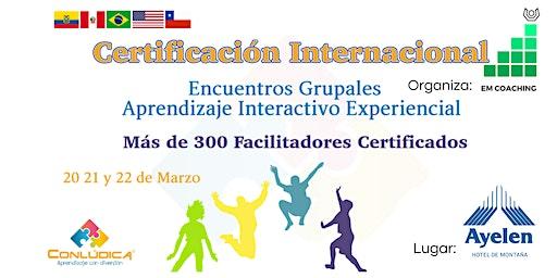 Certificación Internacional  Facilitador  Grupal -Aprendizaje Experiencial