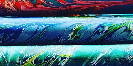 The Art of Paper Marbling and Suminagashi tickets