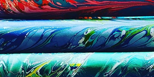 The Art of Paper Marbling and Suminagashi