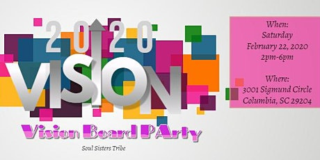 Vision Board Party, 20/20 Vision tickets