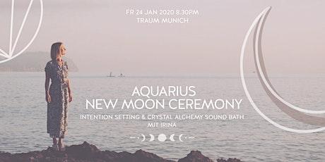Aquarius New Moon Ceremony | Rising Soul Crystal Alchemy Sound Bath tickets