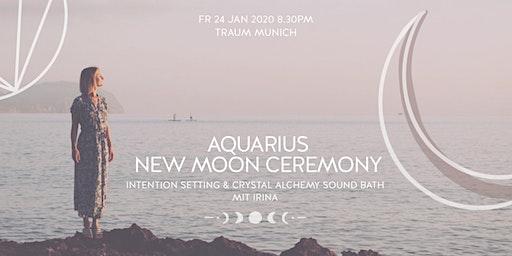 Aquarius New Moon Ceremony | Rising Soul Crystal Alchemy Sound Bath