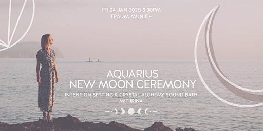 Aquarius New Moon Ceremony | Rising Soul Crystal Alchemy Sound Healing