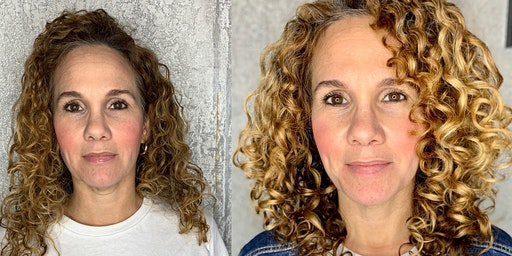 Beginner Curl Cutting Class: The Diagonal Lay (Removing weight and creating