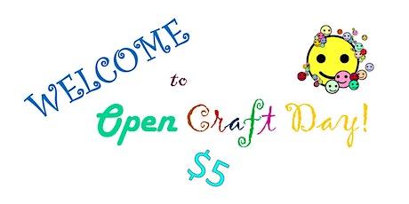 Open Craft Day tickets