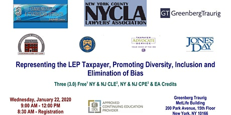 Representing the LEP Taxpayer-Diversity, Inclusion and Bias tickets