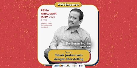 Workshop Teknik Jualan Laris dengan Storytelling oleh Budiman Hakim tickets