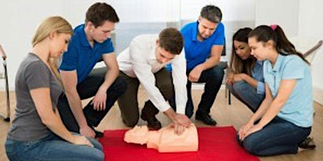 Red Cross Adult and Pediatric First Aid/CPR/AED Course tickets